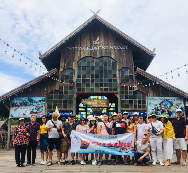 Công ty hệ thống tin học - Du lịch hè Thái Lan
