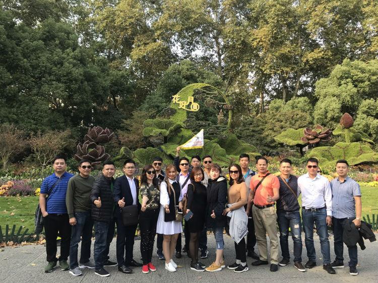 Đoàn thăm Trung Quốc hè 2018