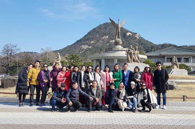 Đoàn thăm Hàn Quốc 2019