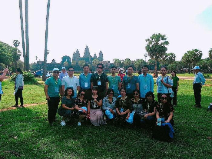 Sở Y Tế Nam Định thăm Campuchia 2018