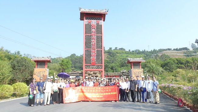 Đoàn đi Nam Ninh - Trung Quốc