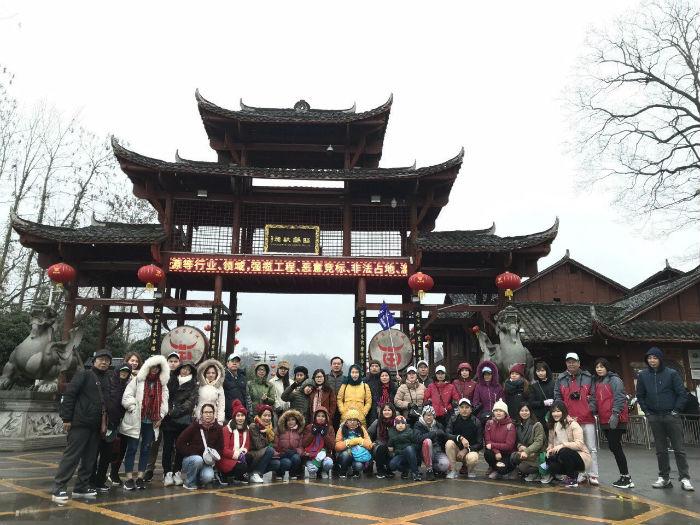 Đoàn thăm Phượng Hoàng 2018