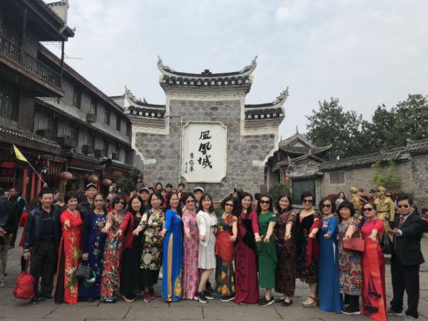 Đoàn thăm Trung Quốc tháng 3/2019