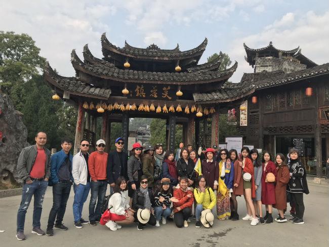 Đoàn đi Trung Quốc 2018