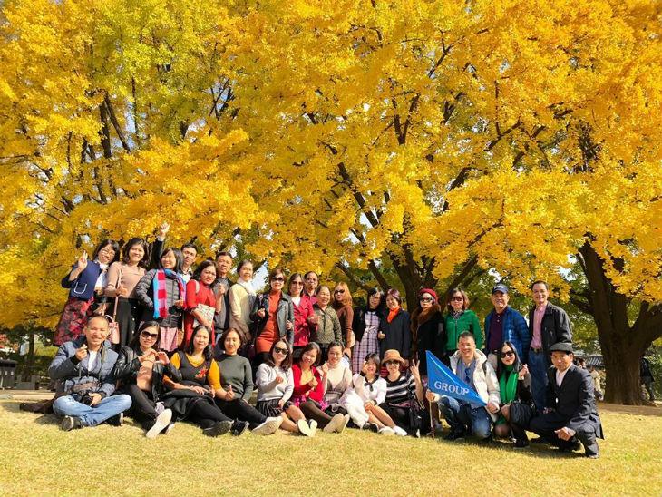 Đoàn thăm Hàn Quốc - Thu 2018