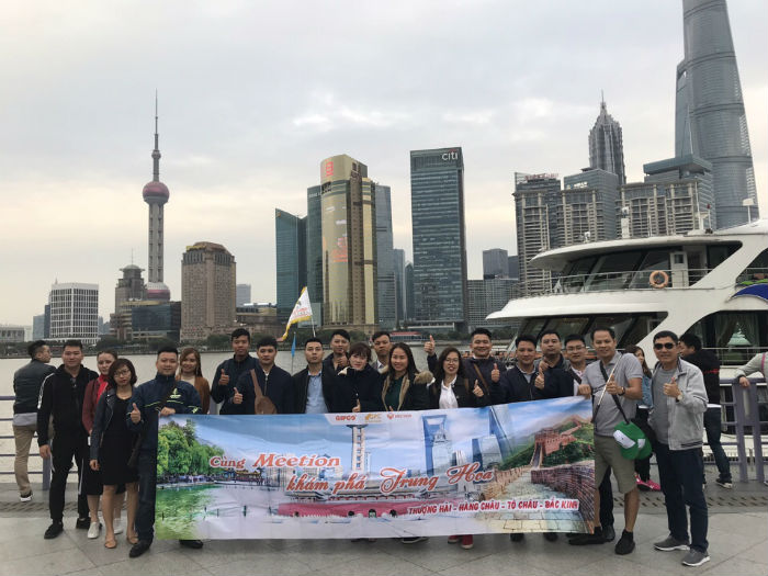Đoàn thăm Bắc Kinh -Thượng Hải