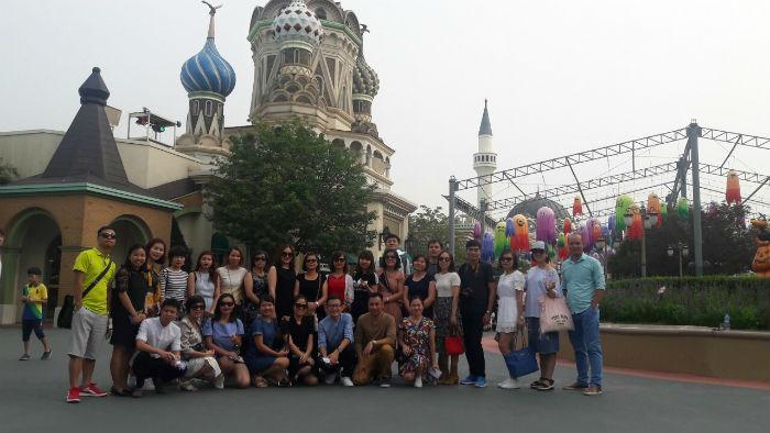 Đoàn thăm Hàn 2018