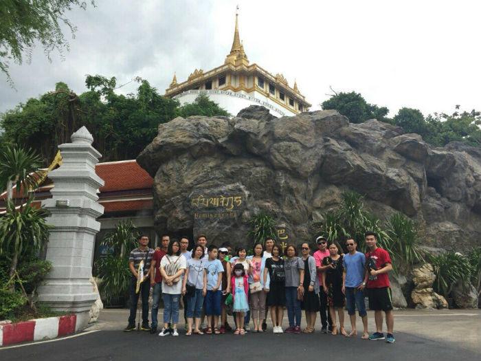 Đoàn thăm Thái Lan 2018